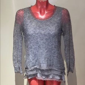 Anthropologie - Knitted & Knotted sweater top